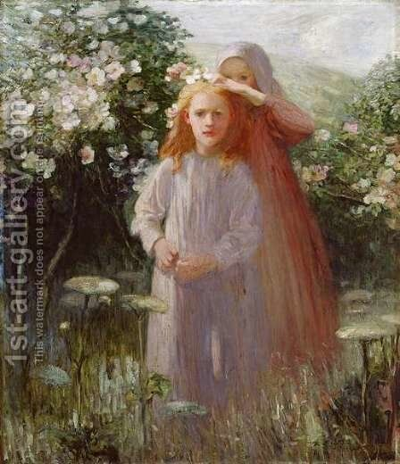 Wild Roses, 1906 by Mark Senior - Reproduction Oil Painting