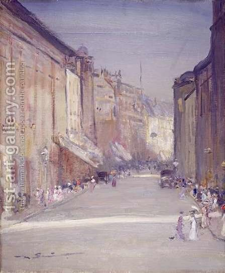 Commercial Street, Leeds by Mark Senior - Reproduction Oil Painting