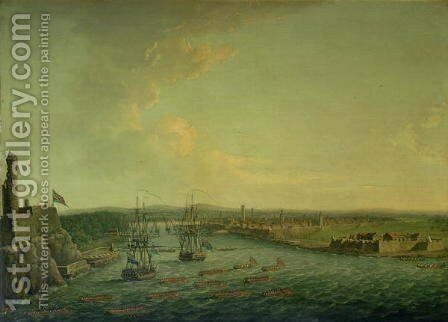 The Siege of Havana in 1762, 1767 by Dominic Serres - Reproduction Oil Painting