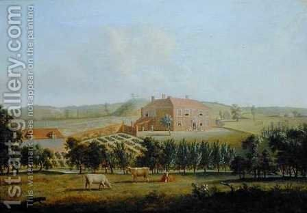 Saint Vincents, Near West Malling, Kent, c.1779 by Dominic Serres - Reproduction Oil Painting