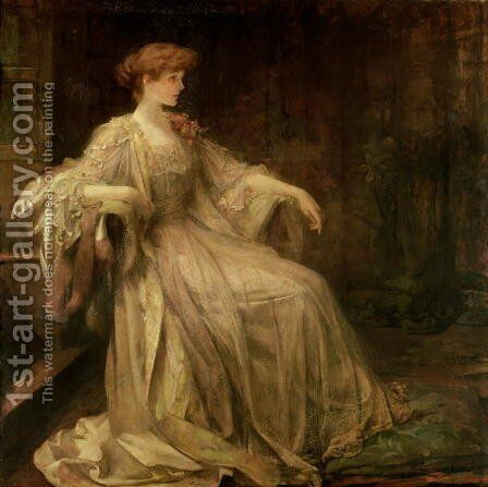 Violet, Duchess of Rutland by James Jebusa Shannon - Reproduction Oil Painting