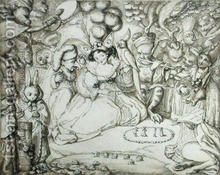 Fairy Concert, c.1830 by Charles Kirkpatrick Sharpe - Reproduction Oil Painting