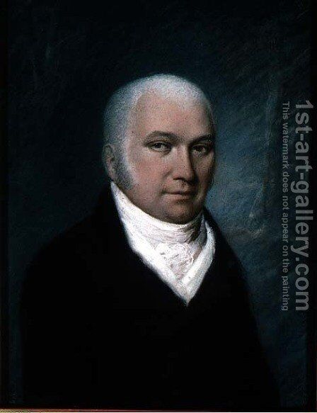 Dr. Thomas Beddoes 1760-1808 by James Sharples - Reproduction Oil Painting