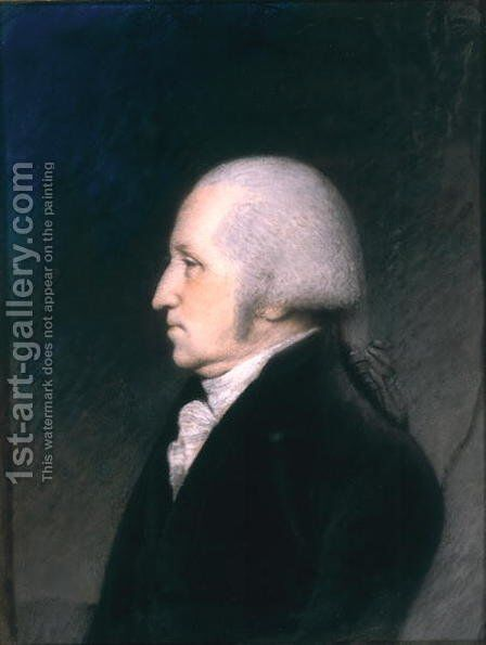 George Washington 1732-99 by James Sharples - Reproduction Oil Painting