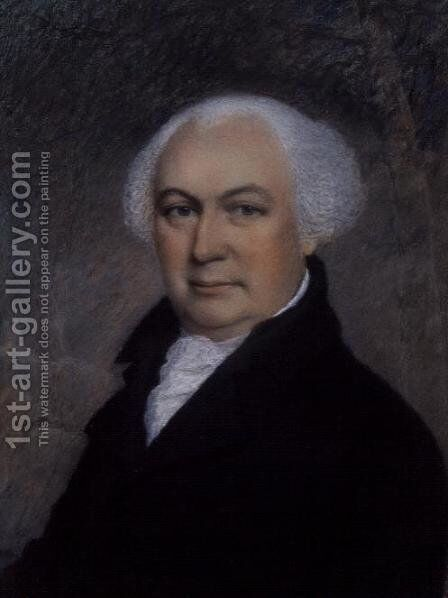 Portrait of Gouverneur Morris 1752-1816 by James Sharples - Reproduction Oil Painting
