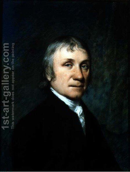 Dr. Joseph Priestley, c.1790 by James Sharples - Reproduction Oil Painting