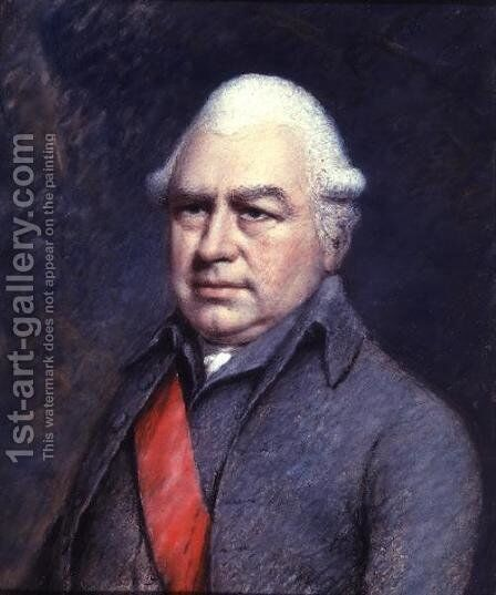 Sir Joseph Banks, English Naturalist, 1743-1820 by James Sharples - Reproduction Oil Painting