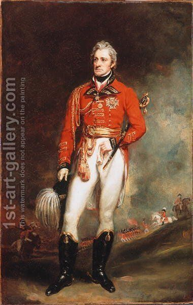 Major General Sir Thomas Munro KCB 1761-1827 Governor of Madras, c.1819 by Sir Martin Archer Shee - Reproduction Oil Painting