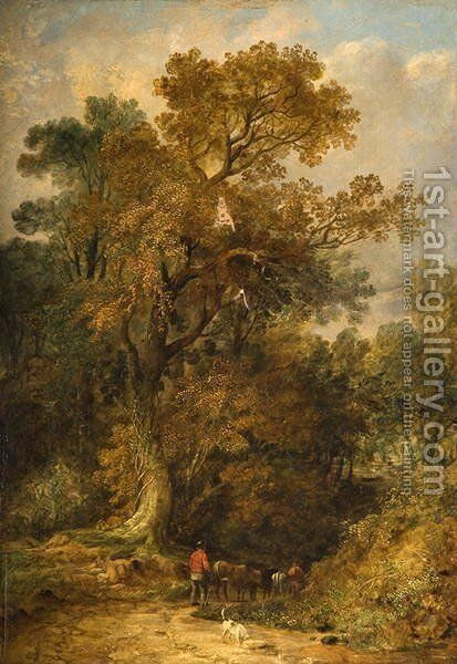 In Epping Forest by Benjamin Shipham - Reproduction Oil Painting