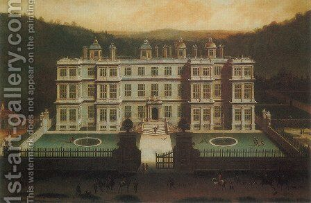 A View of Longleat by Jan Siberechts - Reproduction Oil Painting