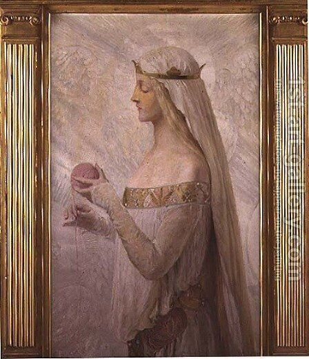 Fair Rosamond Clifford by Herbert Sidney - Reproduction Oil Painting