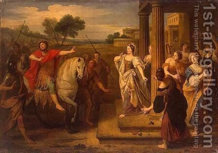 Jephthas Daughter by Bon Boullogne - Reproduction Oil Painting