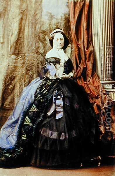 The Duchess of Roxburgh by Camille Silvy - Reproduction Oil Painting
