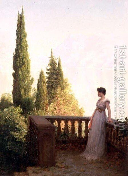 Solitude, 1889 by James Sim - Reproduction Oil Painting