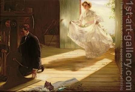 Untitled, 1898 by Charles Sims - Reproduction Oil Painting