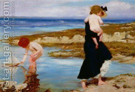 Water Babies, 1903 by Charles Sims - Reproduction Oil Painting