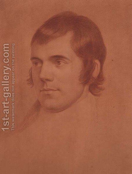 Robert Burns, c.1796-98 by Archibald Skirving - Reproduction Oil Painting
