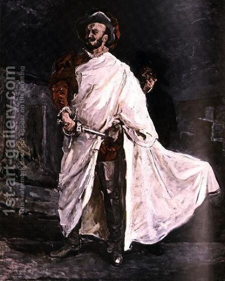 The Best Known Don Juan, from Signal Magazine, No. 14, second edition of July by Max Slevogt - Reproduction Oil Painting
