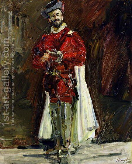 Francisco DAndrade 1856-1921 as Don Giovanni, 1912 by Max Slevogt - Reproduction Oil Painting