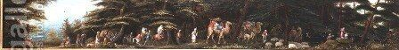 Flight into Egypt by James Smetham - Reproduction Oil Painting