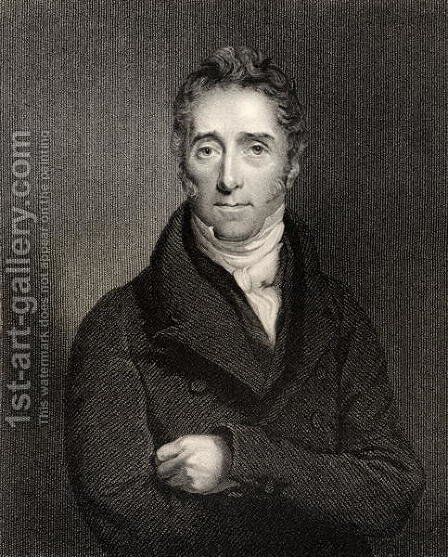 Lord Francis Jeffrey, engraved by G. Parker, from National Portrait Gallery, volume IV, published c.1835 by Colvin Smith - Reproduction Oil Painting