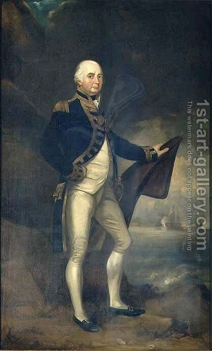 Admiral Lord Collingwood 1750-1810 by Colvin Smith - Reproduction Oil Painting