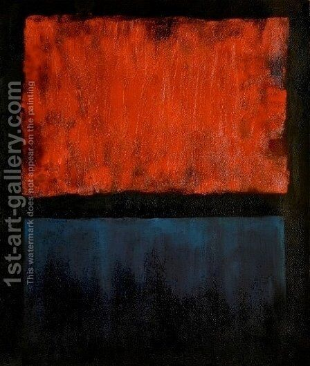 NO.14 by Mark Rothko (inspired by) - Reproduction Oil Painting