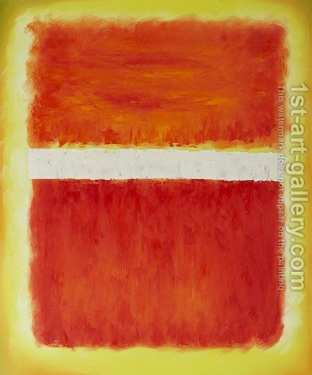 Untitled, 1968 by Mark Rothko (inspired by) - Reproduction Oil Painting