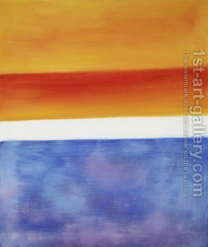 Yellow, Red, Blue by Mark Rothko (inspired by) - Reproduction Oil Painting