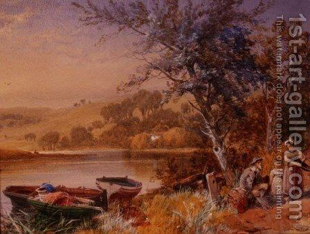 Lakeside by James Burrell Smith - Reproduction Oil Painting