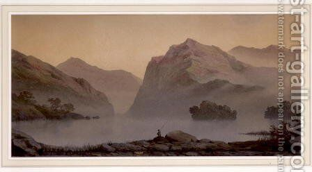 Morning Mists, 1875 by James Whittet Smith - Reproduction Oil Painting
