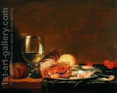 Still Life by Casparus Smits - Reproduction Oil Painting