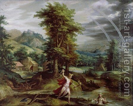 Ceres and Cyane by Jan Soens - Reproduction Oil Painting