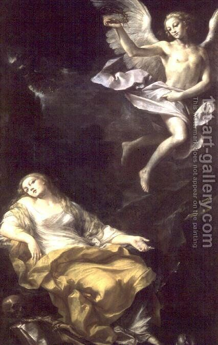 St. Mary Magdalene by Giovanni Gioseffo da Sole - Reproduction Oil Painting