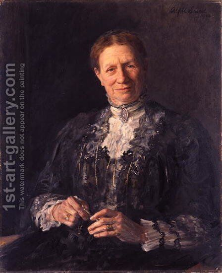 Mrs. Wilson, 1913 by Alford Usher Soord - Reproduction Oil Painting