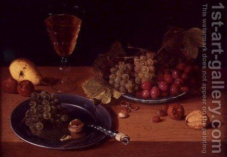 Still Life by Jan Soreau - Reproduction Oil Painting