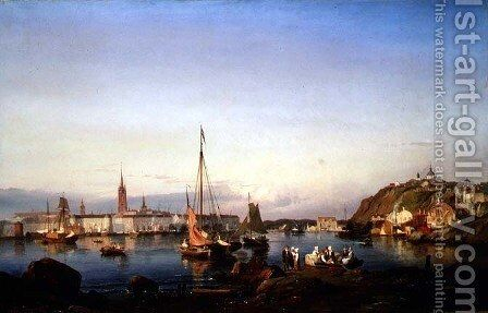 Stockholm by Carl Frederik Sorensen - Reproduction Oil Painting