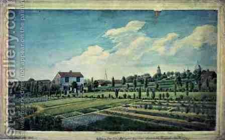 William Curtiss Botanic Gardens, Lambeth Marsh, c.1787 by James Sowerby - Reproduction Oil Painting