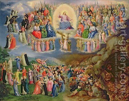 The Last Judgement by Bartholomaeus Spranger - Reproduction Oil Painting