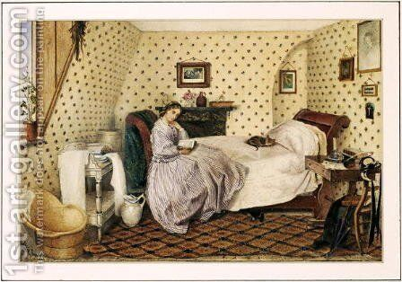 The Governess by Alice Squire - Reproduction Oil Painting