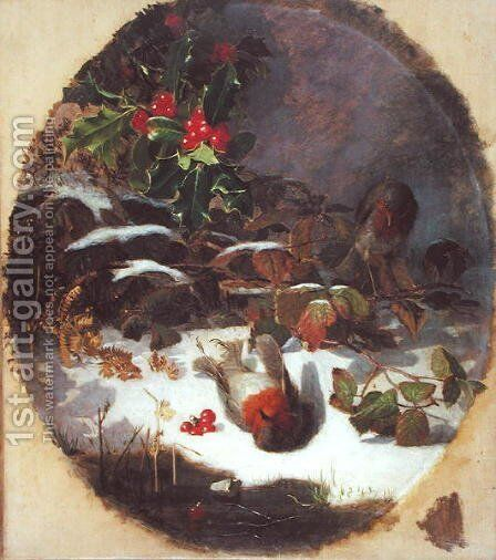 The Four Seasons- Winter, 1872 by Eloise Harriet Stannard - Reproduction Oil Painting