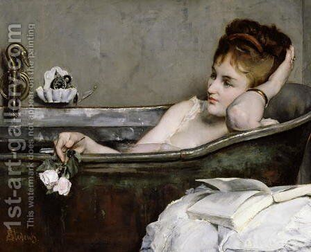 The Bath, c.1867 by Alfred George Stevens - Reproduction Oil Painting