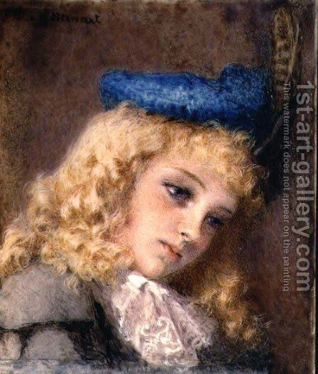 In her Sunday Best by Mary Stewart - Reproduction Oil Painting