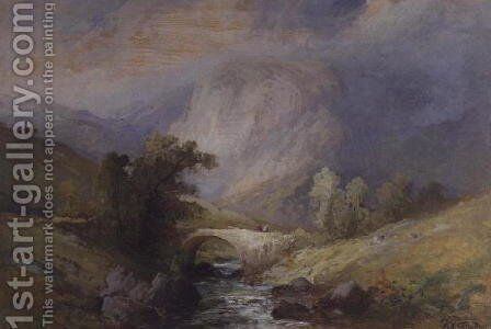 Lakeland Landscape by Edward Stott - Reproduction Oil Painting