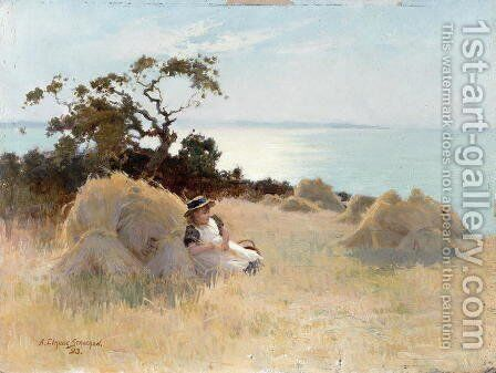 Towards Evening, 1893 by Arthur Claude Strachan - Reproduction Oil Painting
