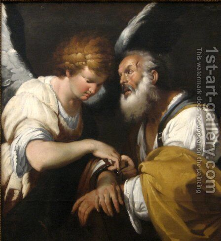 The Release of St. Peter, c.1635 by Bernardo Strozzi - Reproduction Oil Painting
