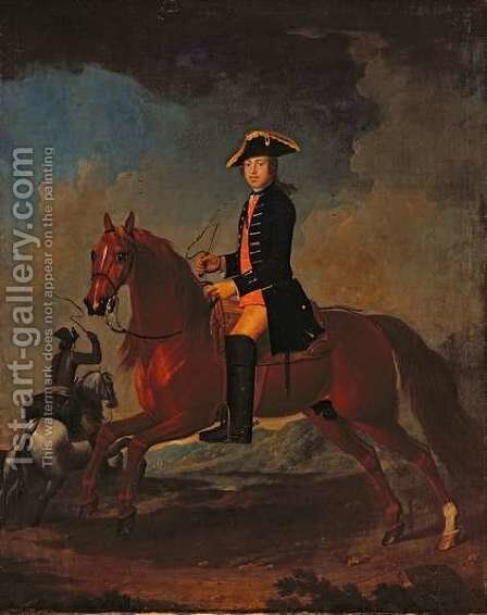 Mr Dawson of Retford, c.1749 by (attr.to) Stubbs, George - Reproduction Oil Painting