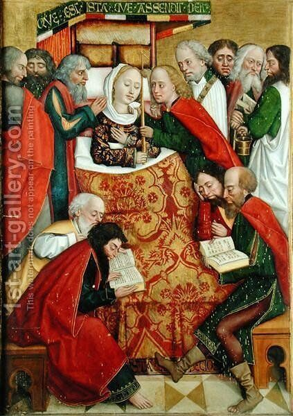Death of the Virgin, from the Dome Altar, 1499 by Absolon Stumme - Reproduction Oil Painting