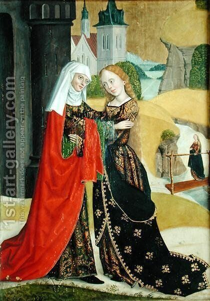 Visitation from the Dome Altar, 1499 by Absolon Stumme - Reproduction Oil Painting