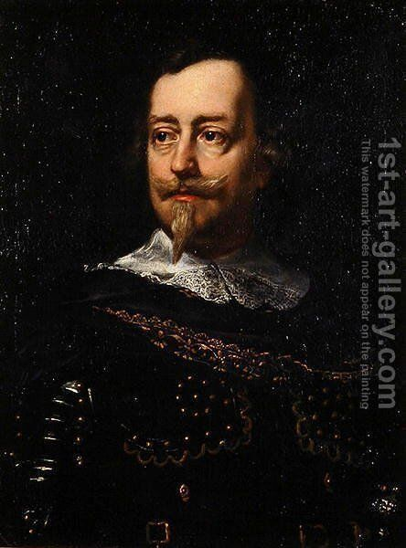 Portrait of Cavalier Brandolini by Justus Sustermans - Reproduction Oil Painting